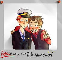 CP: Martin and Arthur by cannorachan