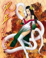 Snake Year 2013 by TakemaKei