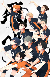 Haikyuu! by BottleWonderland