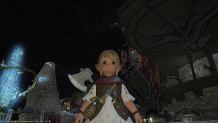 FFXIV ARR My character by Draparde
