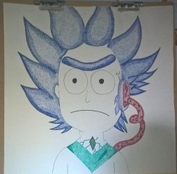 RickTronEX Free Time draw by VanTron64Gamer