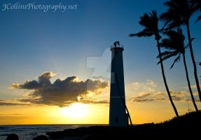 Barbers Point Lighthouse in HI by JCollinsPhotography
