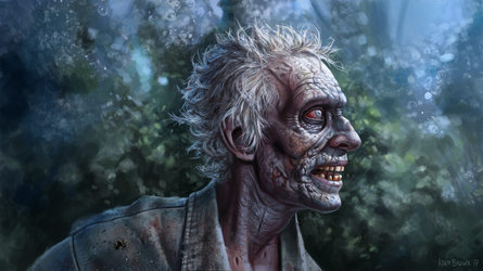 Romero Zombie by adam-brown