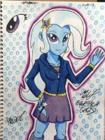 MLP Equestria Girls Trixie by emichaca