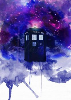 TARDIS by ithildancer