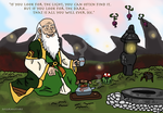 Uncle Iroh - If you Look for the Light by Juggernaut-Art