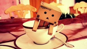 Cup Of Danbo by ShareTheMoment