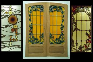 Traditional stained glass. by jostrartat
