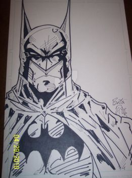 batman face by boltz316