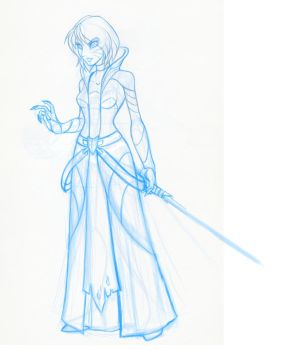 WIP - Sith Inquisitor by evion