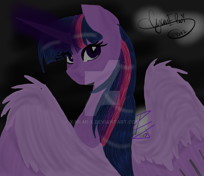 Twilight Sparkle .:Collab:. by X-Mi-Mi-X