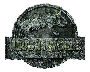 Logo Jurassic World Fallen Kingdom Carno Stone  by OniPunisher