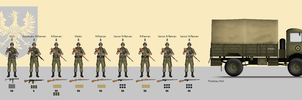 1939 Motorized Infantry Squad by CountGooseman