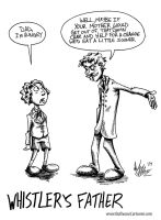 Whistler's Father by OuthouseCartoons
