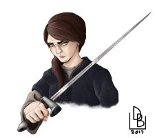 Arya of House Stark by NessunoY59