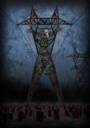 The scarecrow... by MisterCadaver