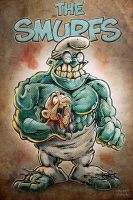 Brainy Smurf by Noumier