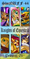 KNIGHTS OF EQUESTRIA PICS NOW AVAILABLE by ShoNuff44
