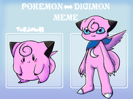 Pokemon - Digimon meme: Clefairy