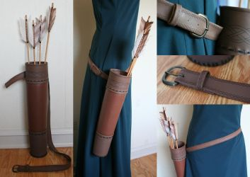 Brave - Merida's Quiver by RainOwls