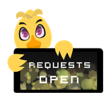Chica Requests Open Stamp by InkCartoon