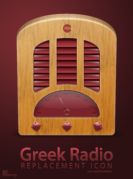 Greek Radio Icon Replacement by Thvg