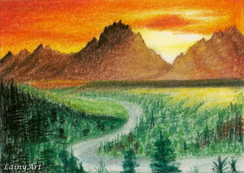 Day 126 - ACEO Drawing Project for Charity by secrets-of-the-pen