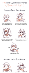 PM: Cinnamon Roll Meme by Cioccolatodorima