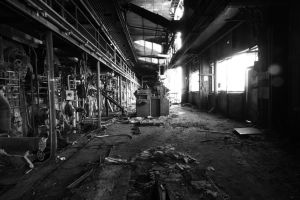 4175, old AMCOR papermill. by thespook