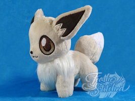 Gift- Chibi Shiny Eevee by FeatherStitched