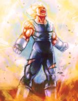 Vegeta's Sacrifice PLUS VIDEO by Mark-Clark-II