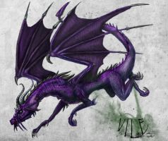 Vile, Dragon Request by Taluns