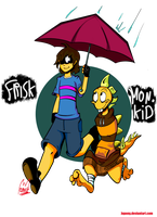 Undertale : 'Think we're going to be friends by Jupony
