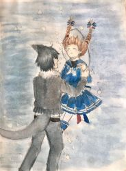 Wadanohara x Samekichi- Always by Your Side by AstoriaMercury