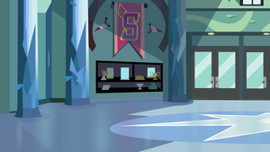 Crystal Prep Academy Lobby (background) by LyricGemVA