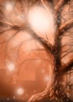 Sepia_tree_2: iPhone painting by catbones