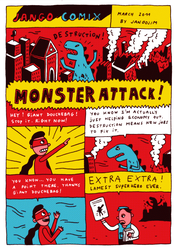 JANGO COMIX - MONSTER ATTACK by laresistance