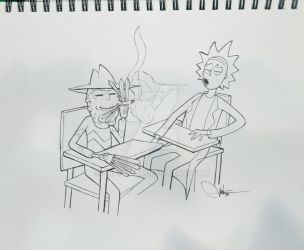 Rick and Terry by jmart-art