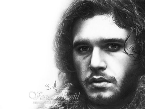 Jon Snow by VencaSeitl