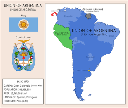 Union of Argentina by SoaringAven