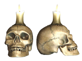 Skull 04 PNG Stock by Roy3D