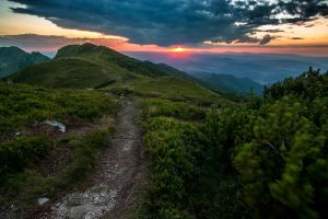 Sunset from Velky Krivan by Richie181