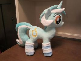 My little pony Lyra heartstrings Plushie by Little-Broy-Peep