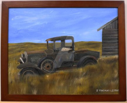 Farmstead Truck by JThomastheartist13