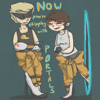 Now You're Shipping with Portals. by squidForager