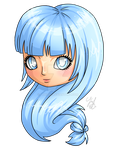 Chibi Head 2 - Hollie by Lyrizel