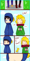 Craig x Tweek comic by TweekPark