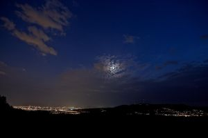 Moon Over Vienna by batmantoo