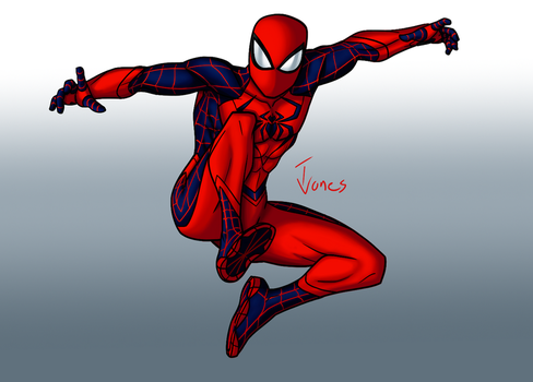 Spider-Man redesign by TJJones96