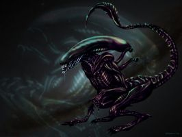 Alien Runner by Herisheft